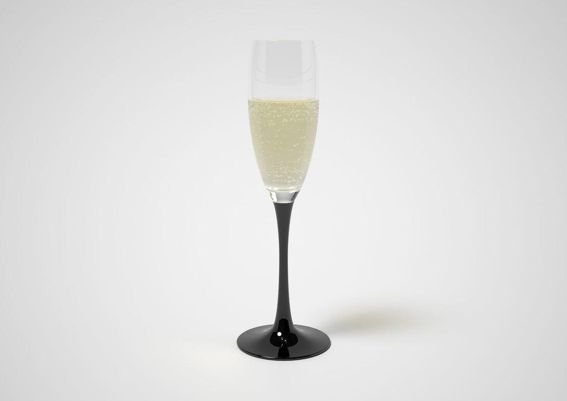 maya sparkling wine glass