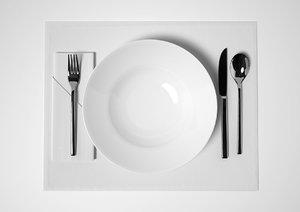 table set 3d max