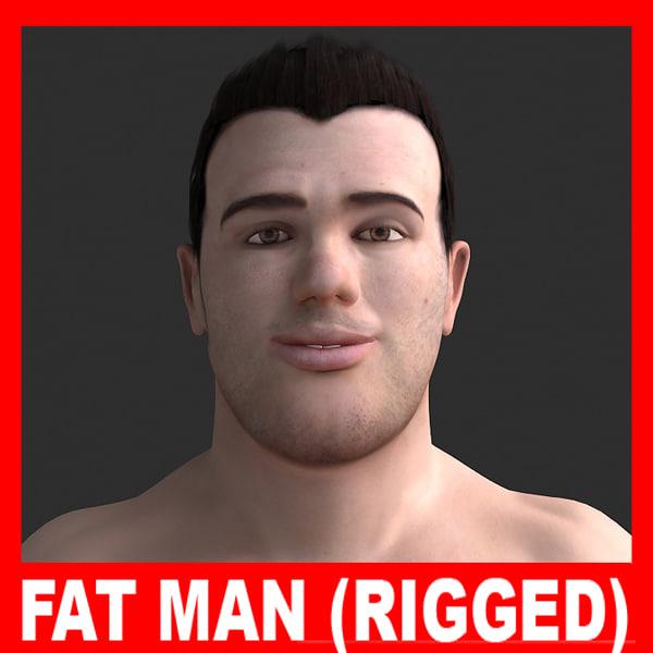 ppl01 fat man adrien 3d max
