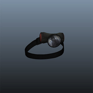 3d ma flashlight hat