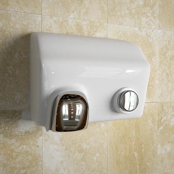 3d model of hand dryer hand-dryer