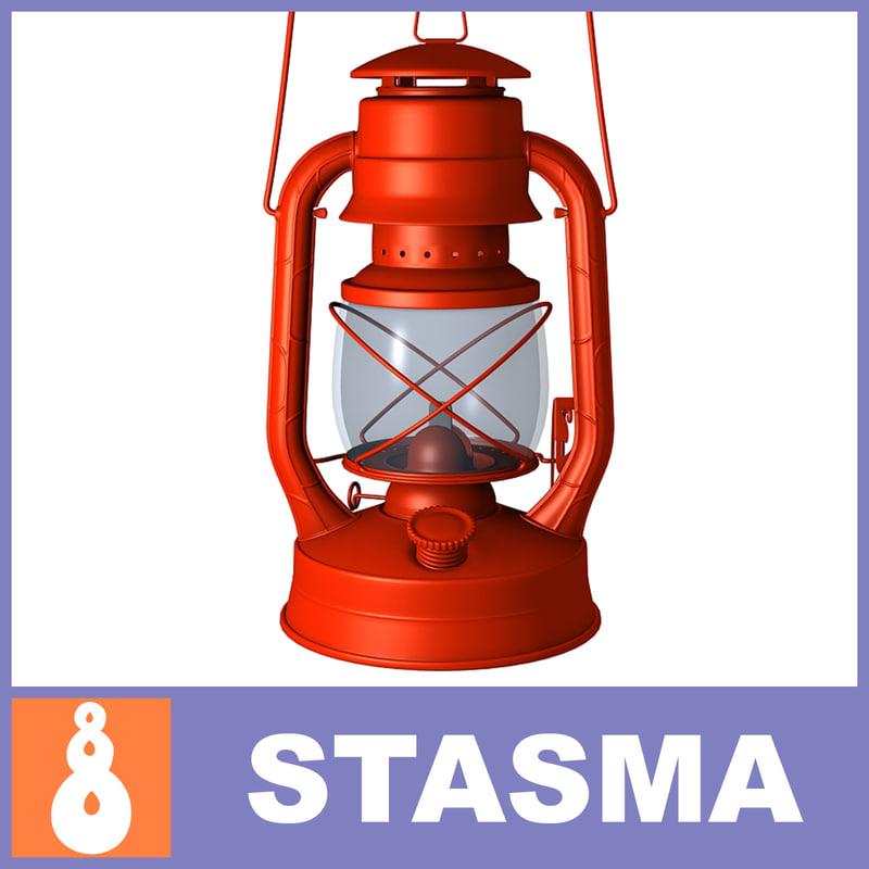 kerosene lamp 3ds free