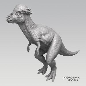 obj pachysaurus dinosaur