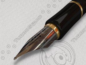 pen sign 3d ma