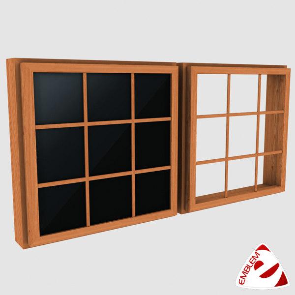 window glass 3d max