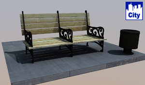 city bench ma