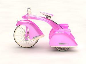 max pink bicycle