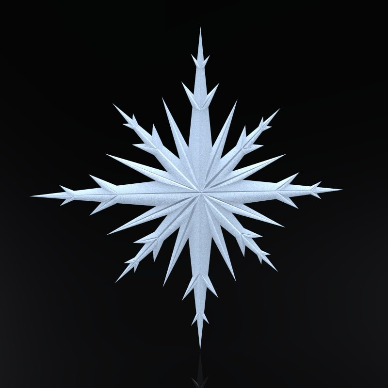 maya snowflake christmas symbols