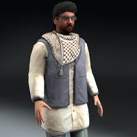 Afghan Male Rigged