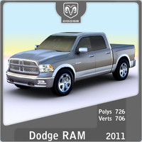 3d 2011 dodge ram