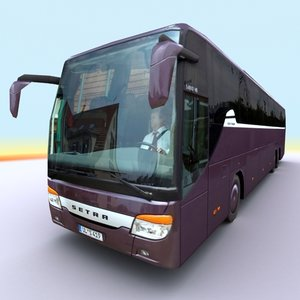 2009 setra s419 gt 3d 3ds