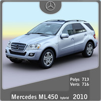 2010 mercedes ml450 hybrid 3ds