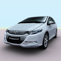 3d model 2010 honda insight hyrid