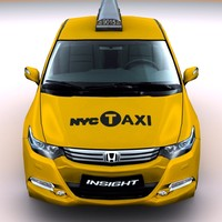 2010 Honda Insight N.Y.C. taxi