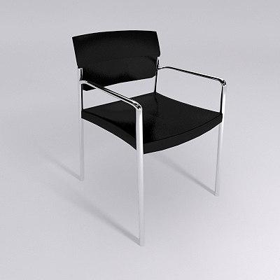 3d chair - materials model