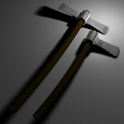 cinema4d axe wood