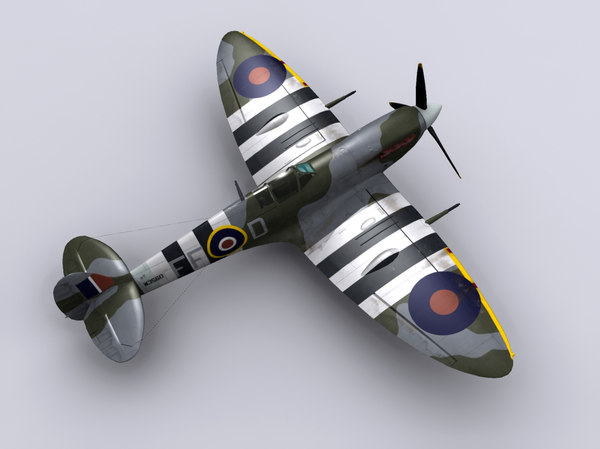 3ds supermarine spitfire fighter mkvb