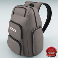 3d model backpack dakine