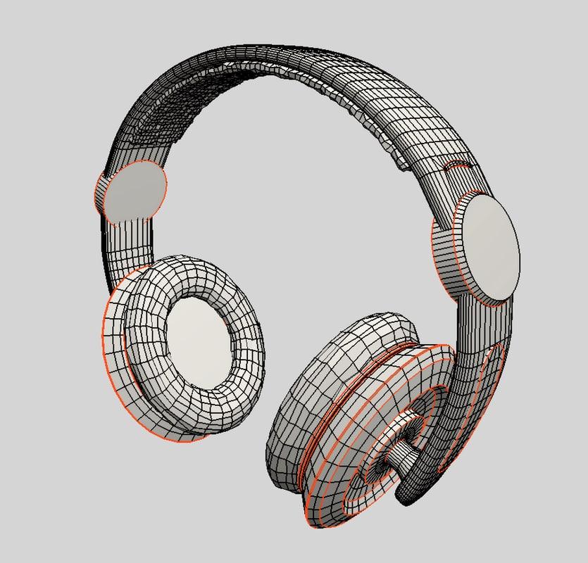 earphones 3d 3ds