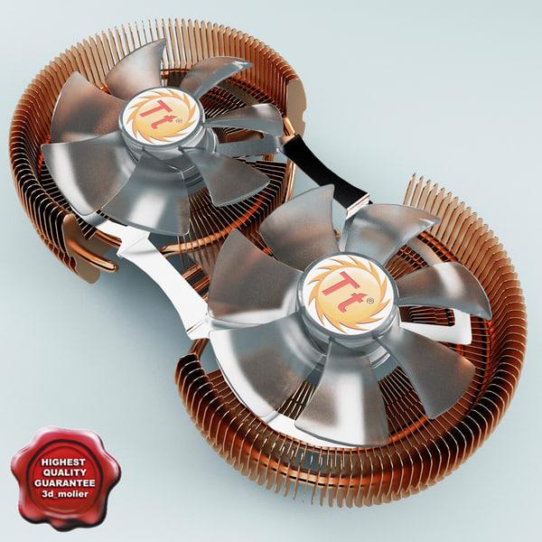 cpu cooler thermaltake 3d max