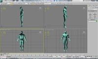 3d man hero model