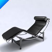 max le corbusier lc4 seat