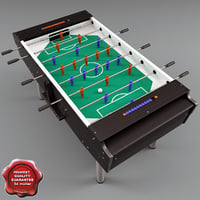 fussball table c4d