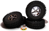 3d tires super swamper bogger model