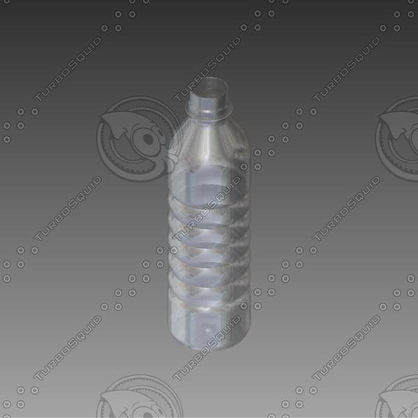 3d model bottle water