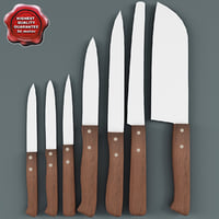 Kitchen Knives Collection V1