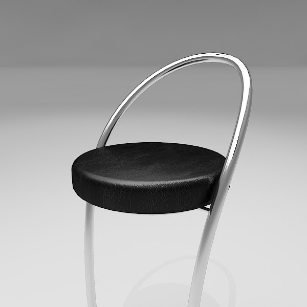 3d lauria bar stool