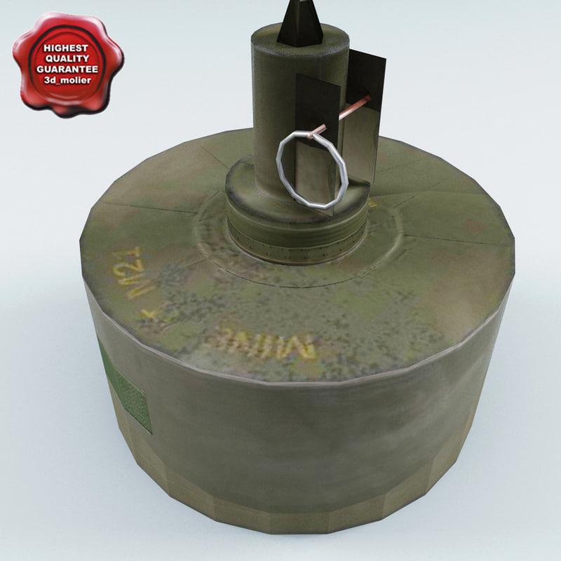m21 anti-tank landmine max