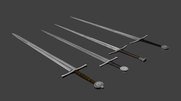 free obj model sword