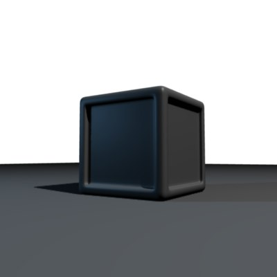 3d wonderful box model