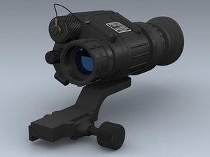 fbx pvs-14 weapon mount