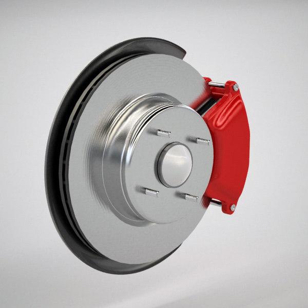 3d generic brake disc
