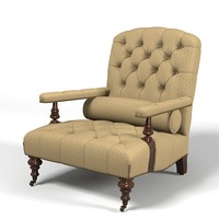 george smith Edwardian Chair   ButtonedGREENWICH classic tufted traditional low club chair armchair classical