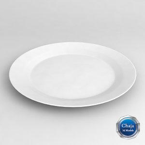 3d model dish