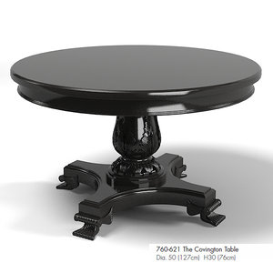 3d max drexel covington dining