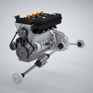 wheel drive engine max