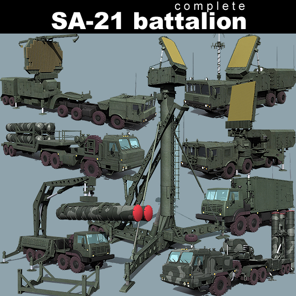 3d model sa-21 battalion