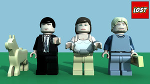 characters lego lost pack 3d ma