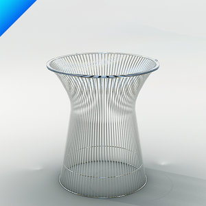 platner table design 3d model
