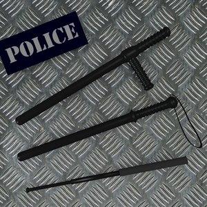 3d baton police model