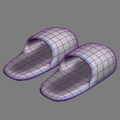 3ds max slippers