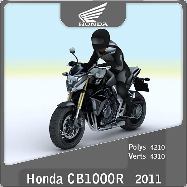 2011 honda cr1000r 3d 3ds