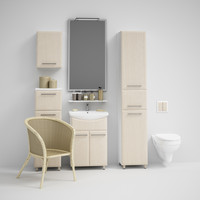 CGAXIS bathroom set 03
