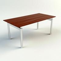 3d max table - materials