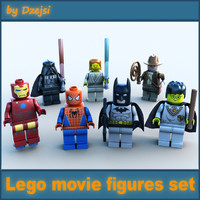 Lego movie figures collection