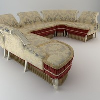 Baroque Antique Sofa